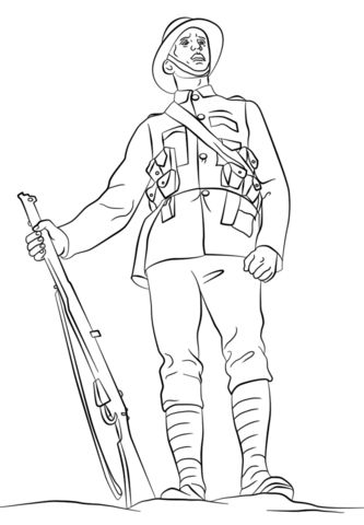 Soldiers clipart wwi soldier British of page see page