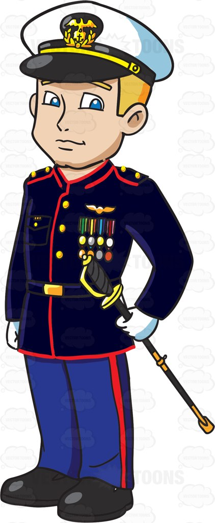 Soldiers clipart army officer Marine pictures clip  free