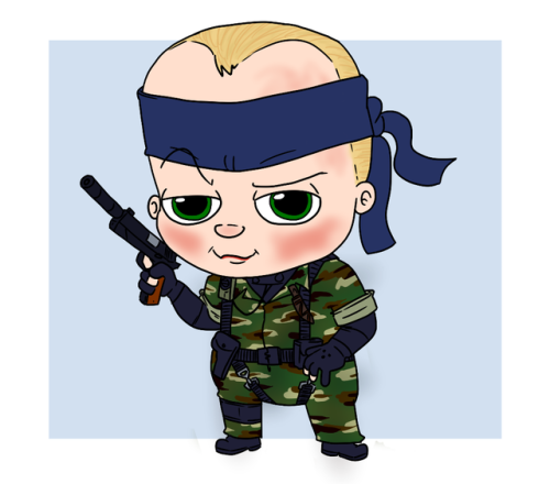 Soldier clipart baby Tumblr boss baby baby it's