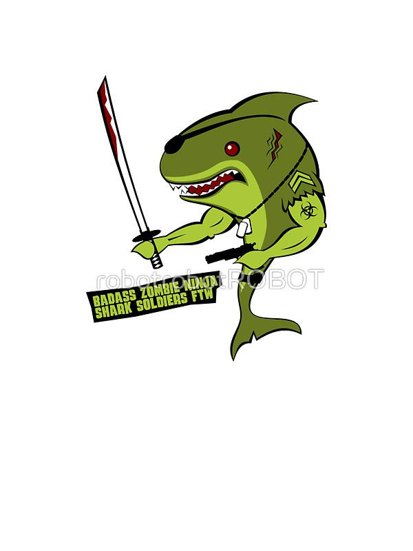 Soldiers clipart badass Ninja Badass Soldier Shark Soldier