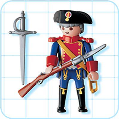 Soldiers clipart blue coat 4611  guard Playmobil coat
