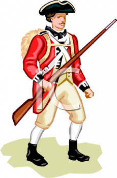 Soldier clipart britain Red Coat cliparts British Clipart