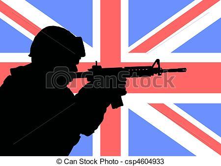 Soldier clipart british soldier Illustrations of  British British