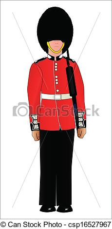 Soldiers clipart england British Guard A csp16527967 British