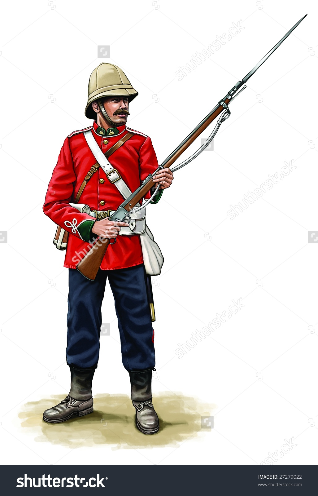 Soldier clipart british soldier Military british (72+) soldier colonial