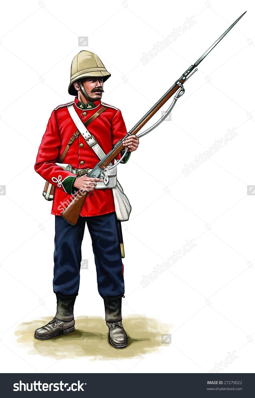 Soldier clipart british soldier Military british (72+) clipart British