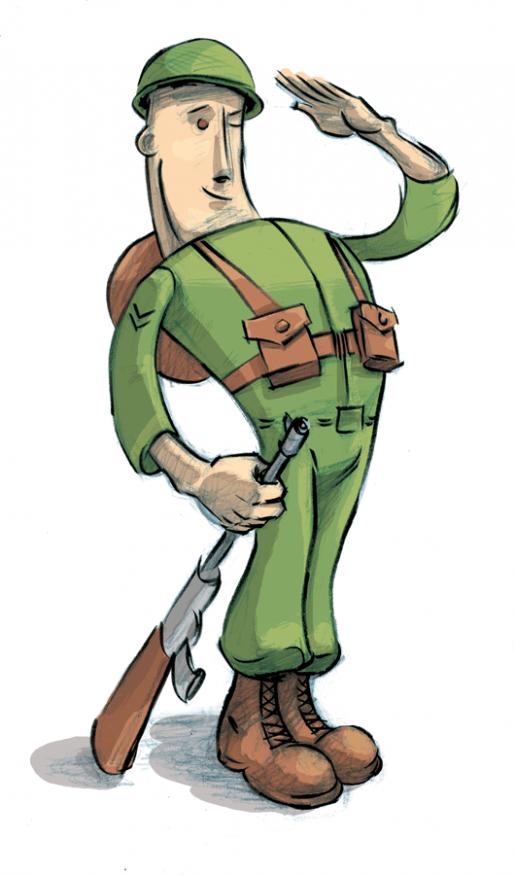 Soldier clipart cartoon Cartoon Cartoon on Free Clipart