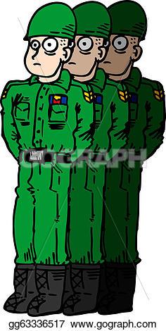 Soldier clipart cartoon Creative Illustration gg63336517 cartoon of