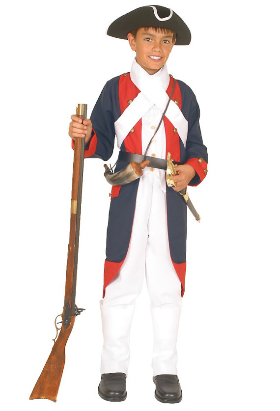 Revolution clipart colonial soldier Military War Boys Revolutionary soldier