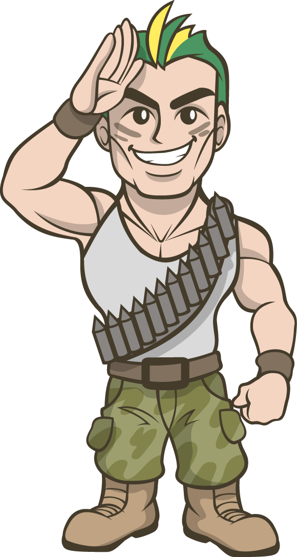 Soldier clipart commando Free Art Commando Soldier