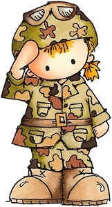 Soldier clipart cute Soldier For cards art Pinterest