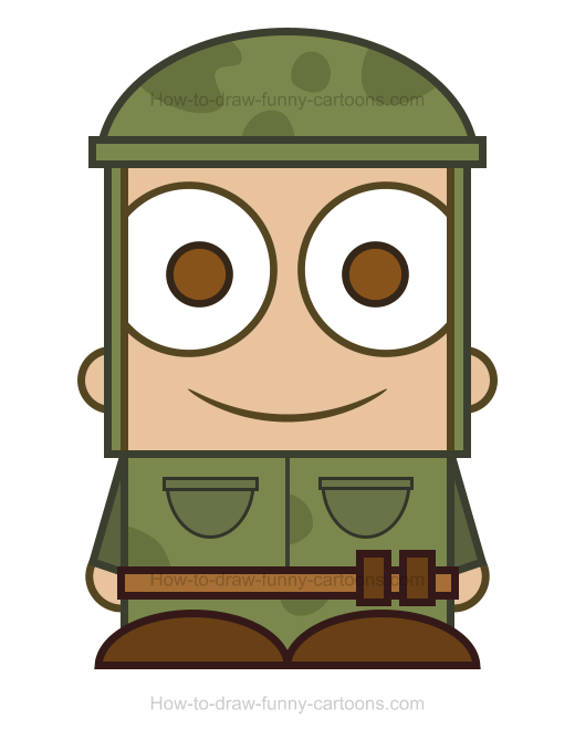 Soldier clipart drawn Draw Soldier How Blog Page