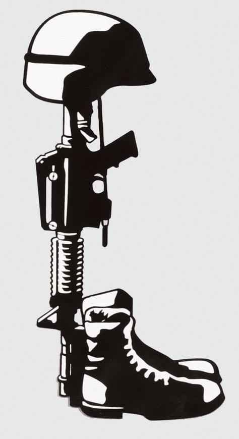 Soldier clipart drawn 25+ the Soldier Fallen Pinterest
