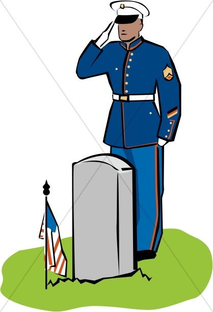 Soldiers clipart dress Soldier Day Fallen Salutes the