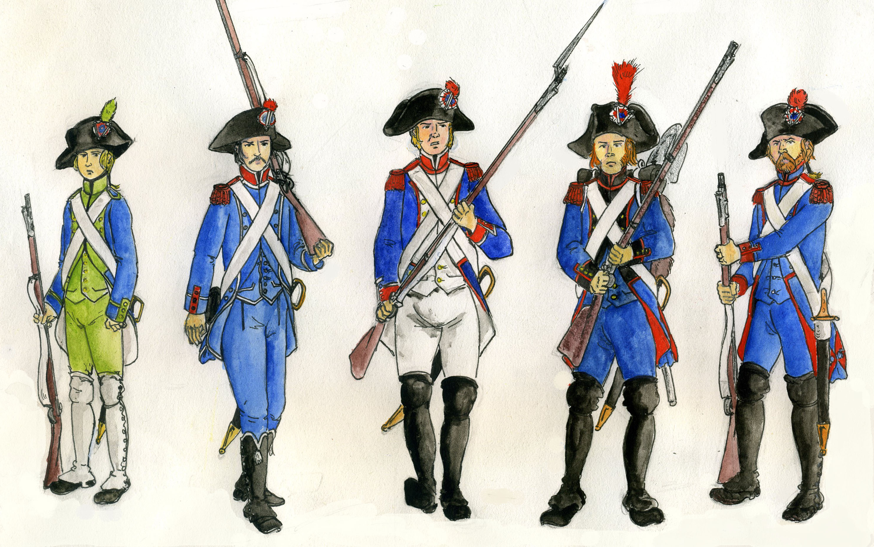 Soldier clipart french revolution Storybook  Revolution The My