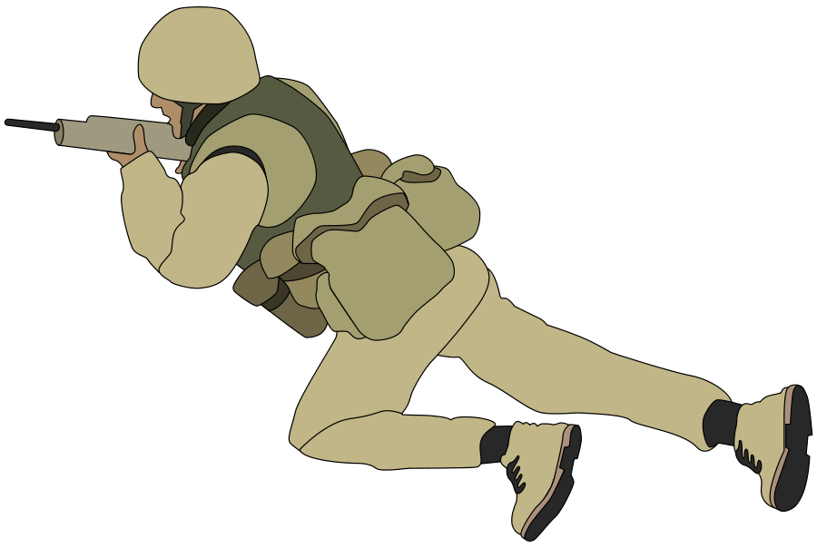 Army clipart german soldier #4