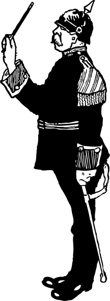 Soldiers clipart german soldier As: clip Band Military Conductor