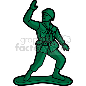 Soldier clipart graphic Toy vector army illustration army