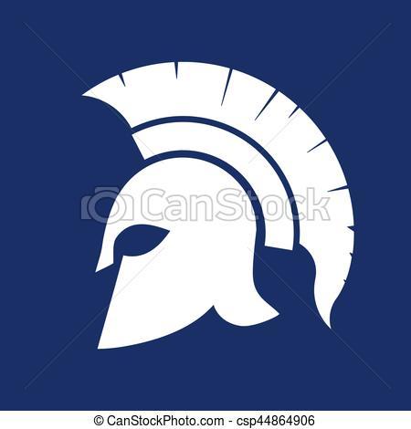 Soldier clipart greek hero Spartan Greek silhouette Spartan Helmet