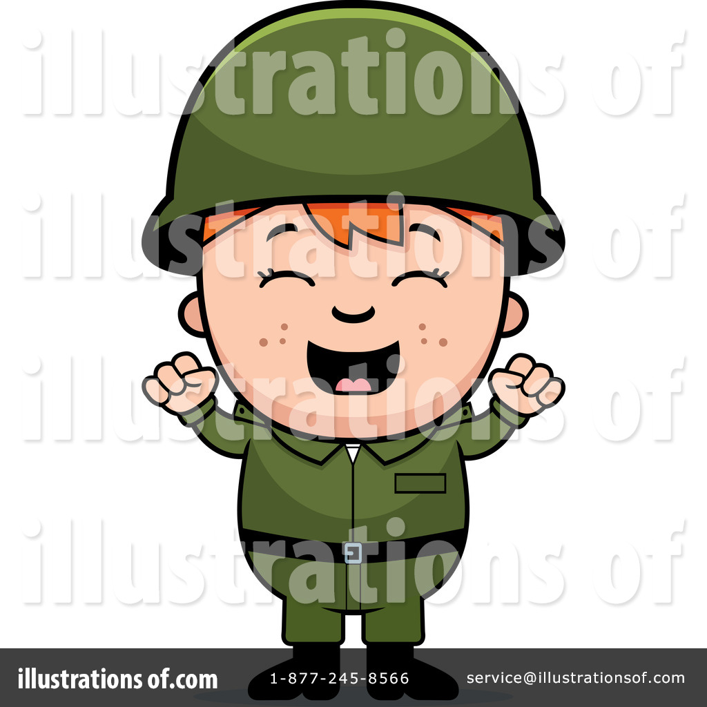 Soldiers clipart illustration Clipart by by Thoman Illustration