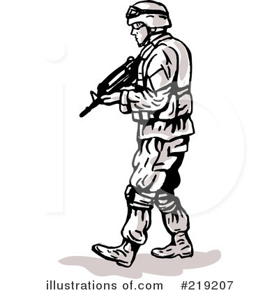 Soldiers clipart illustration #219207 by patrimonio Soldier by