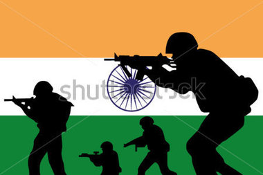Soldier clipart indian soldier Silhouette and of Clipart the