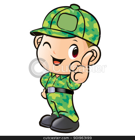 Soldiers clipart kid Clip Cartoon Soldier Download Art