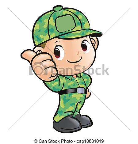 Soldier clipart kid Black Free Images soldier Clipart