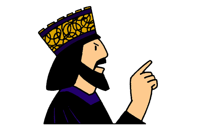 Wisdom clipart king saul  God Mission Disobeys Saul