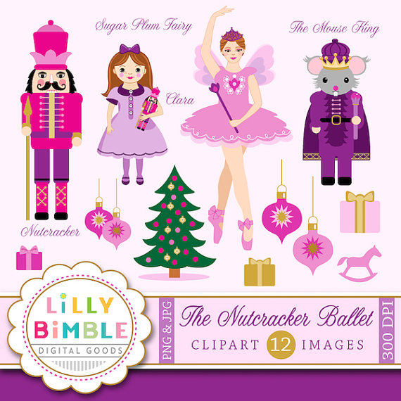 Ballet clipart nutcracker ballet King Soldier from Plum Mouse
