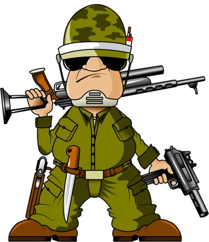Soldier clipart occupation About png Best images อาชีพ