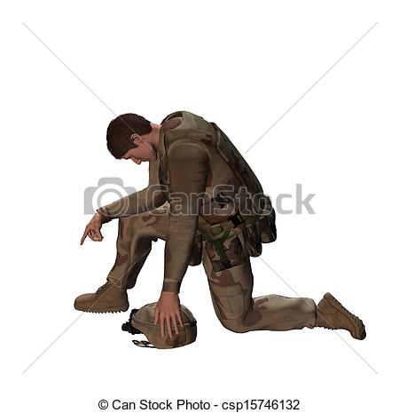 Soldier clipart sad To Soldier Tribute fallen Drawings
