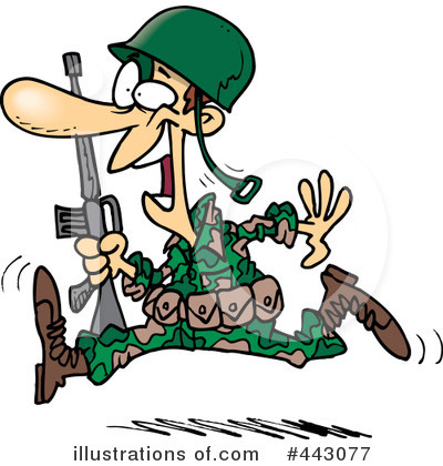 Soldiers clipart sold Soldier (RF) toonaday Clipart by