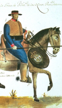 Soldier clipart spain Texas Prehistoric painting soldier of