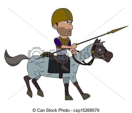 Soldier clipart spain Vectors warrior  csp15268579 Ancient