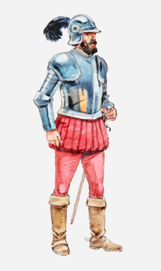 Soldier clipart spain Bernal conquistador  Conquistador Spanish