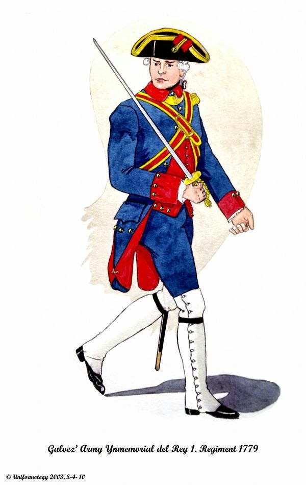 Soldier clipart spain SPANISH Ynmemorial 1779 images Regiment