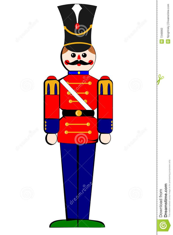 Soldiers clipart tin soldier 468 Photo: soldier Christmas wooden