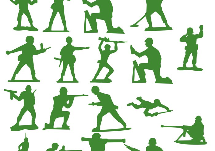 Soldier clipart toy soldier Soldier Brushes 18 Free Soldier