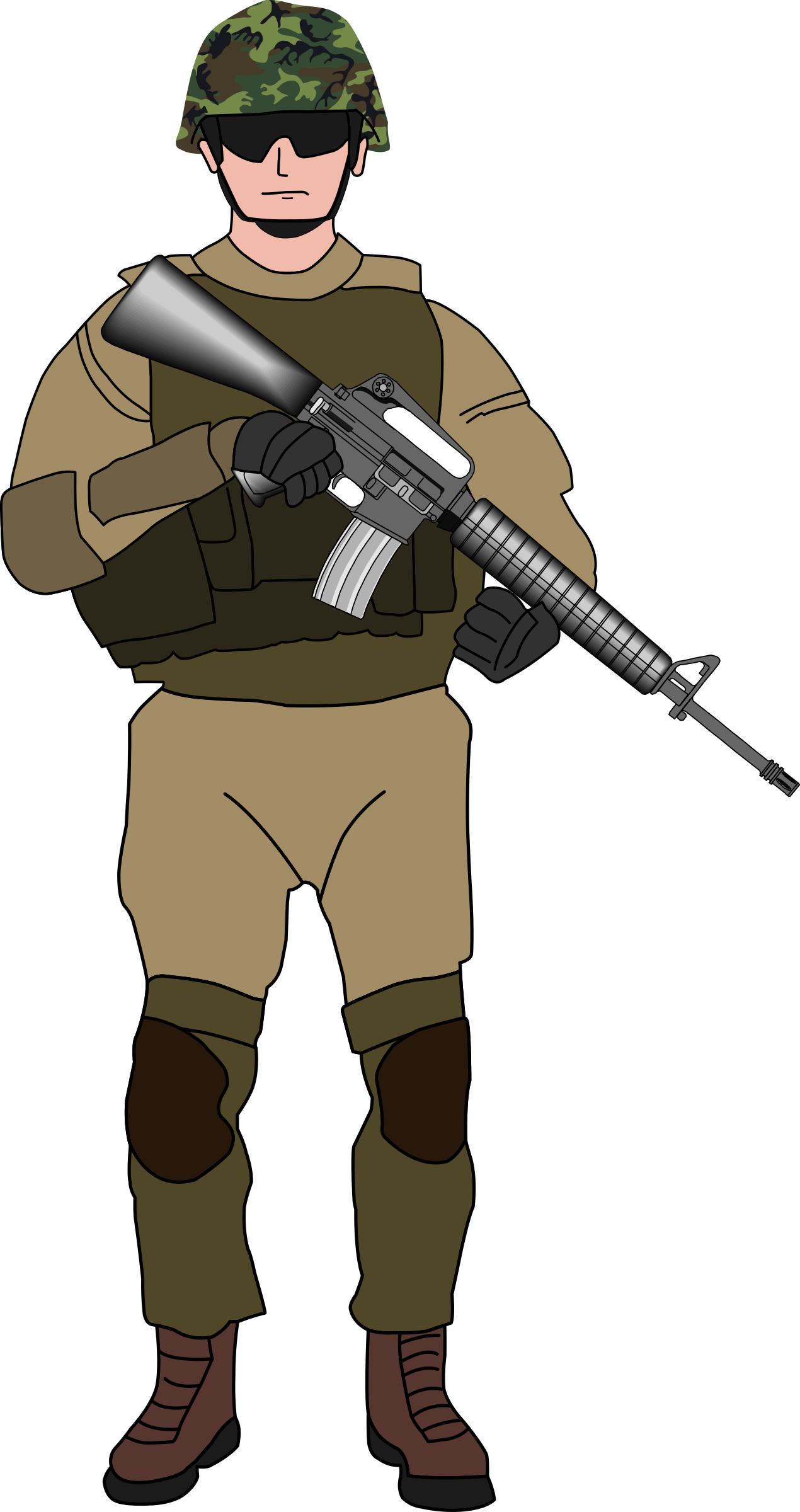 Soldier clipart transparent PNG Free Soldier Transparent PNGMart