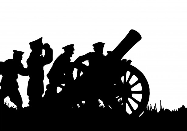 Soldiers clipart black and white Free Images Clipart Art Clipart