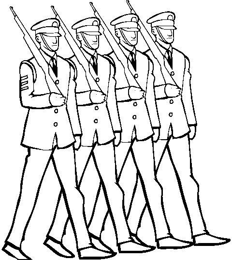 Soldier clipart troops Soldier Cliparts Cliparts Marching Soldiers