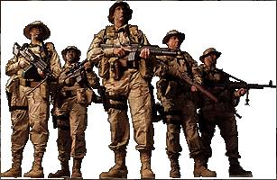 Soldier clipart troops Signature art clip signature art