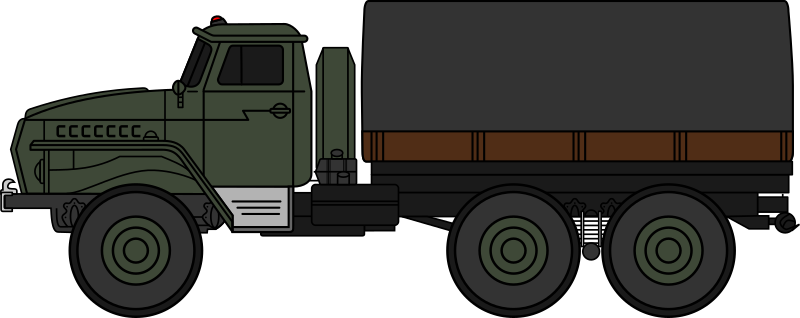 Soldiers clipart truck Truck 4320 (coloured) IMAGE military