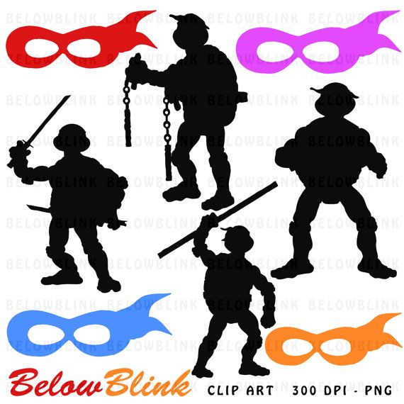 Soldier clipart turtle Digital Baby Clipart Art 29