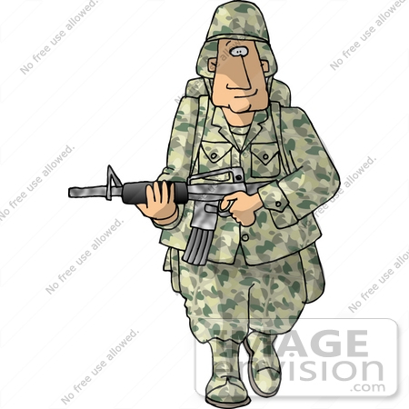 Soldier clipart us soldier Soldier S U Army Download