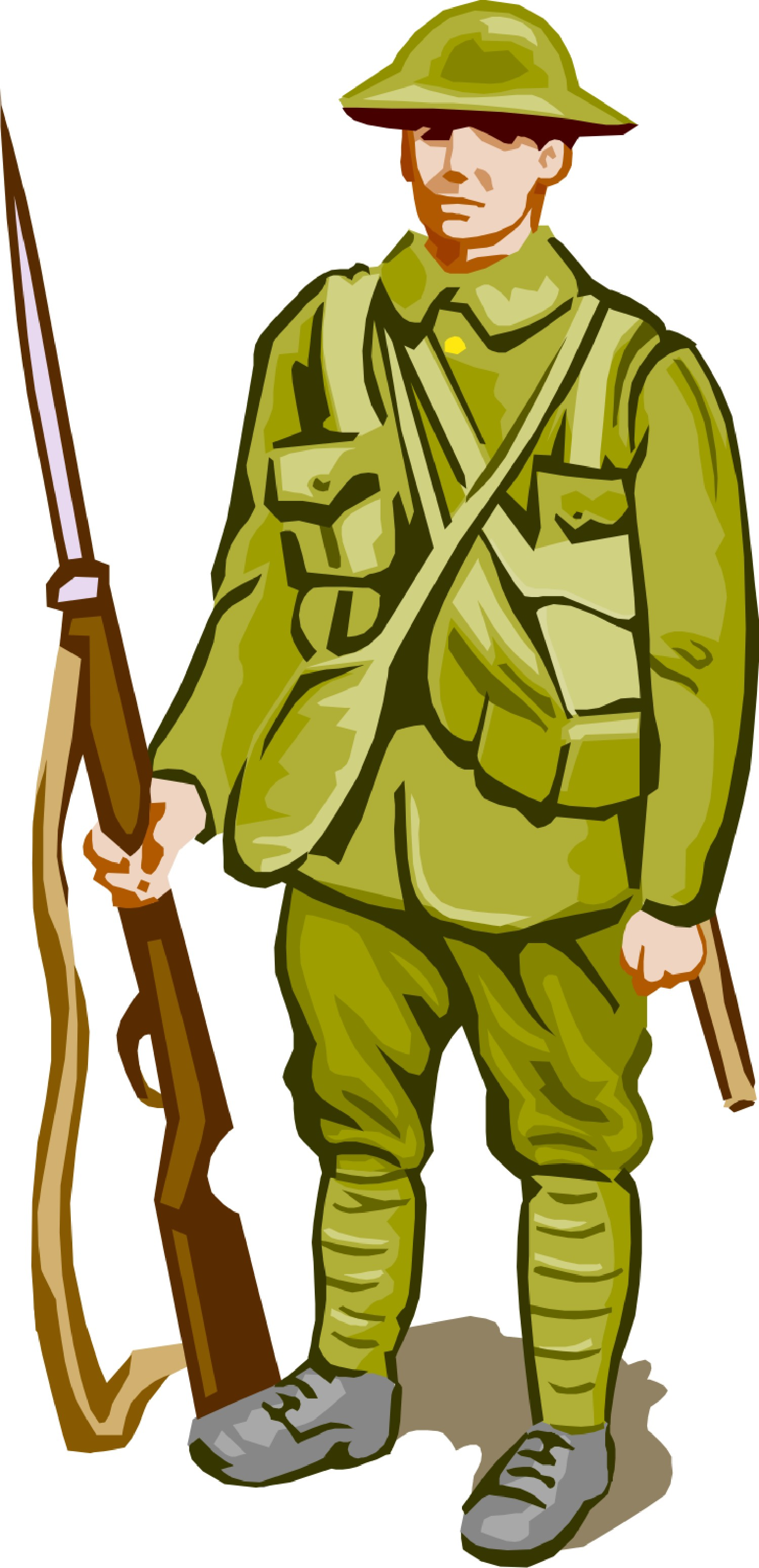 Soldier clipart us soldier American  Free Free American