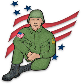 Soldier clipart veterans day Graphics Animations soldier Veterans Soldier