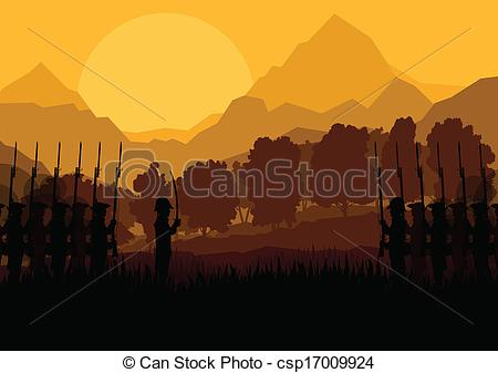 Battlefield clipart troops Of civil and battle troops