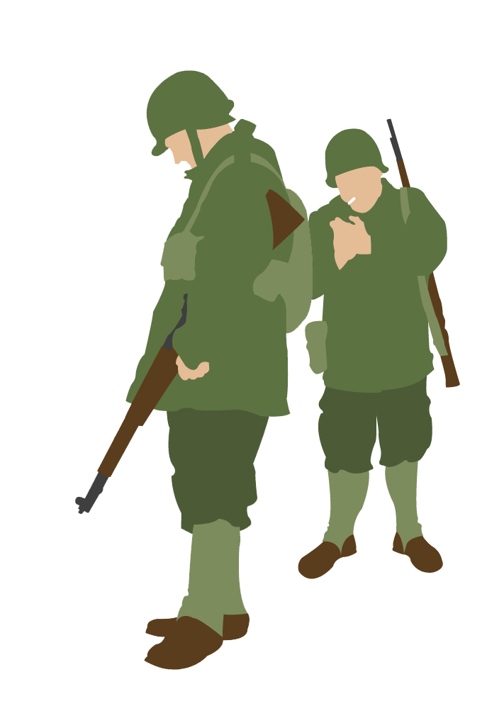 Soldiers clipart wwii By on WWII WWII brandoonwa